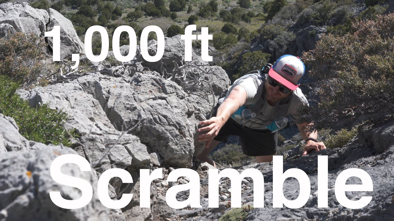 1000 Ft Scramble On Utahs Sharpest Rocks
