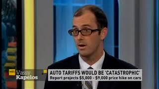 Michael Hatch CADA Chief Economist on CBC's Power and Politics, July 6 2018, on Automotive Tariffs