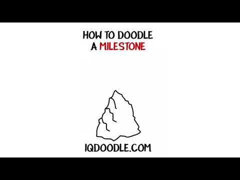 How to Draw a Milestone (drawing tips)
