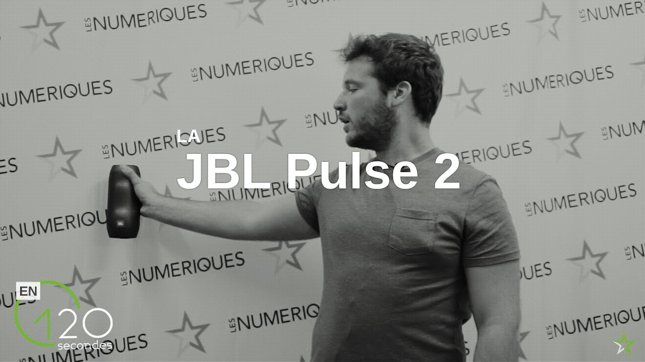 test de l 39 enceinte jbl pulse 2 en 120s youtube. Black Bedroom Furniture Sets. Home Design Ideas