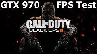 Black Ops 3 - Performance: GTX 970 + FX 8320 [60 FPS]