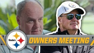 Steelers GM Colbert talks Offseason Moves, Ben Roethlisberger Extension | NFL Owners Meeting