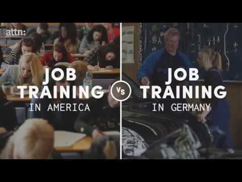 JOB TRAINING ON AMERICA AND GERMANY