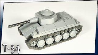 lego Mini Soviet Tank T-34-76. Танк Т-34-76