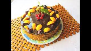 """ФРУКТОВЫЙ торт """"ЯГОДКА"""".ЛАКОМЫЙ кусочек."""
