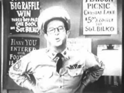 Phil Silvers CBS Promo (1955)