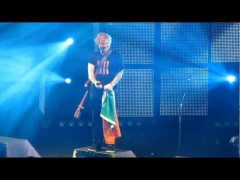 Ed Sheeran - The A Team (Live The O2 Dublin 11th January 2013)