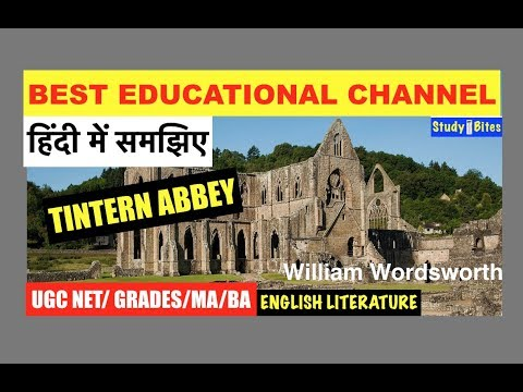 "M.a sem 2(saurashtra university)CCT 04 unit 1""TIntern Abbey""poem from YouTube · Duration:  1 minutes 19 seconds"