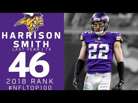 #46: Harrison Smith (S, Vikings)   Top 100 Players of 2018   NFL