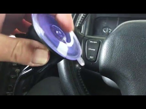 How To Stick Phone Suction Cup Mounts That Won't Stick