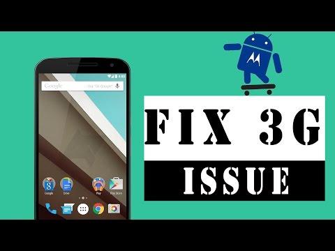 How to Fix 3G Problems on Motorola Smartphones