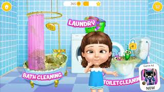 Fun Girls Care Kids Game: Play Sweet Baby Girl Cleanup 5 - Fun Games for Baby