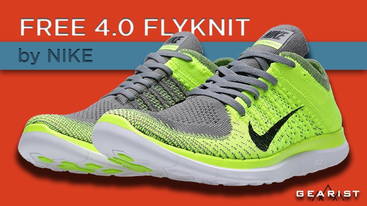 new arrival 043f7 7567b NIKE FREE 4.0 FLYKNIT RUNNING SHOES REVIEW - Gearist.com