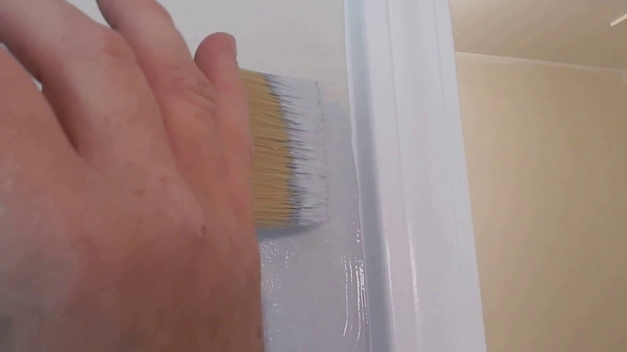 Eliminating brush marks  (5 Minute Handyman) Painting tips and tricks!