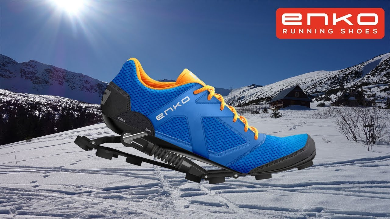 Snow Running Shoes >> Enko Running Shoes Vs Snow Youtube
