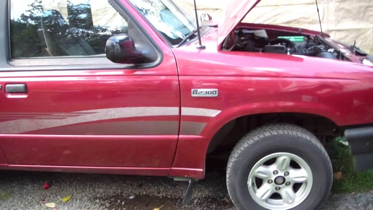 My new 1995 mazda b2300 truck