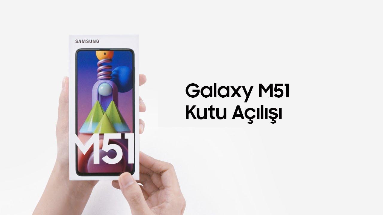 Galaxy M51 Kutu Açılımı   Samsung