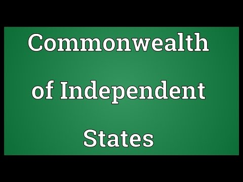 Commonwealth of Independent States Meaning