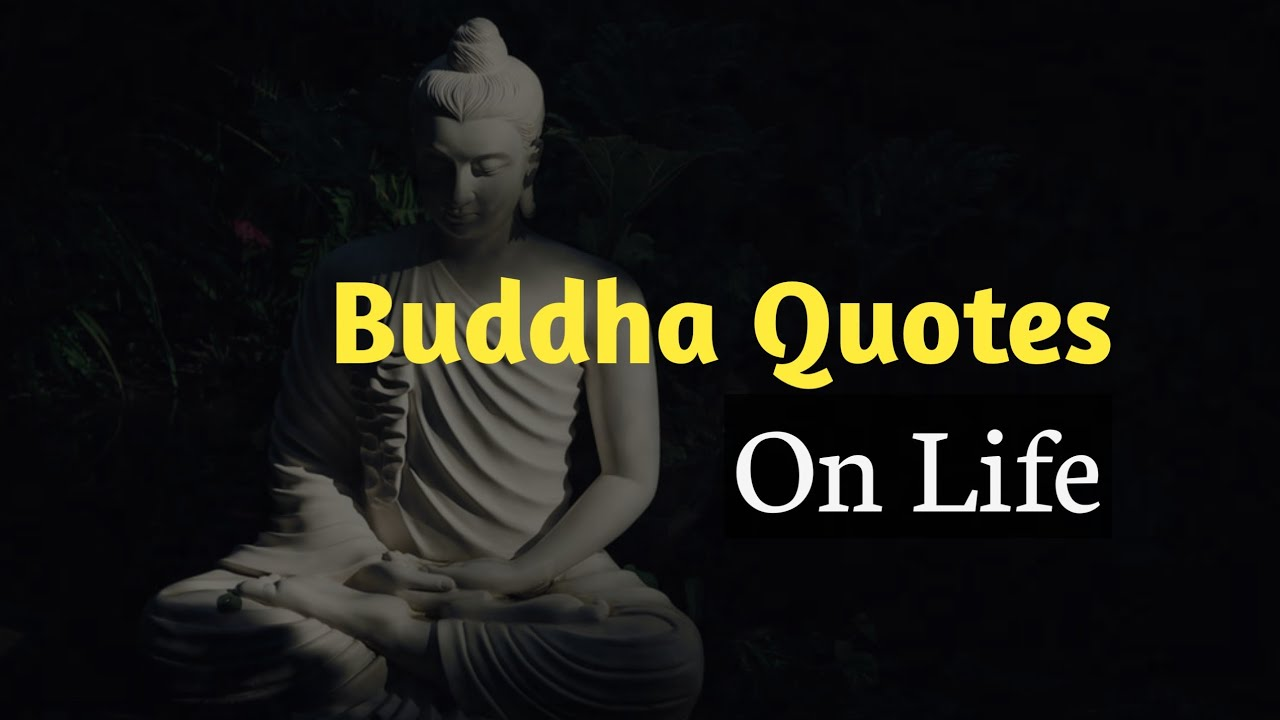Buddha Quotes On Life   Buddha Thoughts in English   Life Quotes   Status Time - YouTube