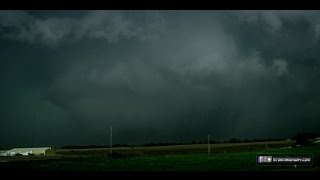 Tornadoes at Marshall and Lexington, Missouri - May 10, 2014