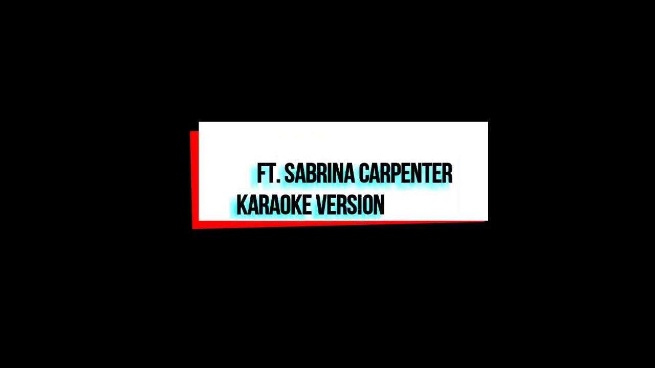 Clouds - Karaoke - Fin Argus ft. Sabrina Carpenter