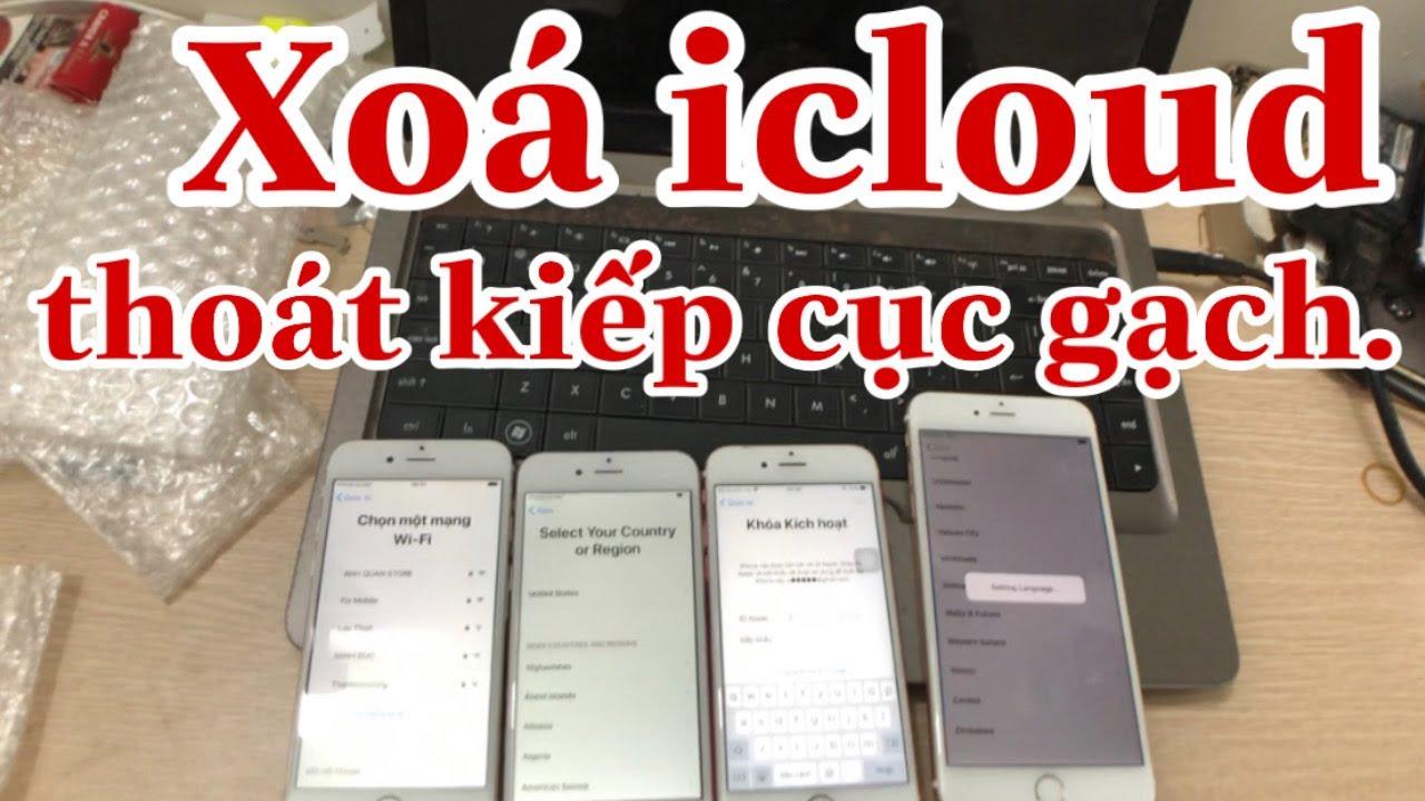 Xoá Icloud ios 13 – thoát kiếp cục gạch cho iphone ipad