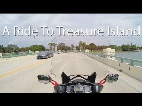 A Ride To A New Client In Treasure Island FL