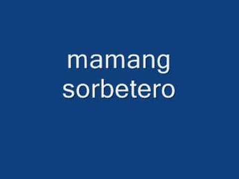mamang sorbetero - celeste legaspi