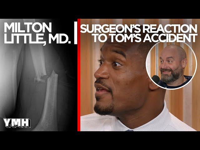 Tom Segura's Trauma Surgeon Reacts to Tom's Injury - Tom Talks Highlight