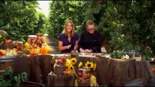 Bringing It Home- Chef Deborah Scarborough- Stuffed Pork Chop With Peach Gastrique