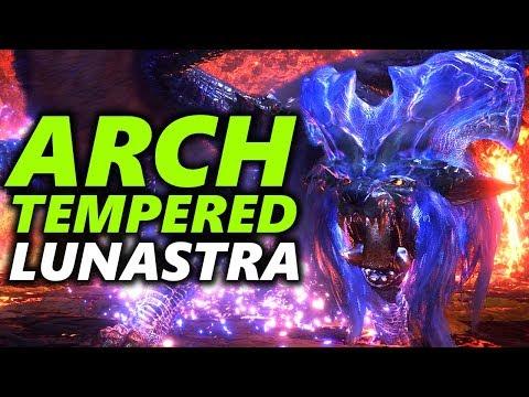ARCH TEMPERED LUNASTRA - Monster Hunter World