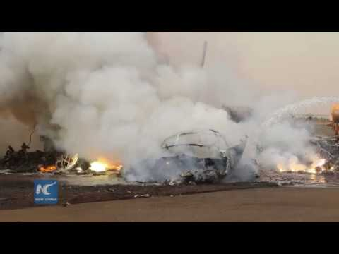 Aircraft crashes in South Sudan, casualties unknown