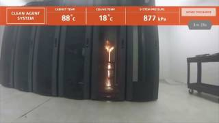 видео Установка автоматического пожаротушения (АУПТ)