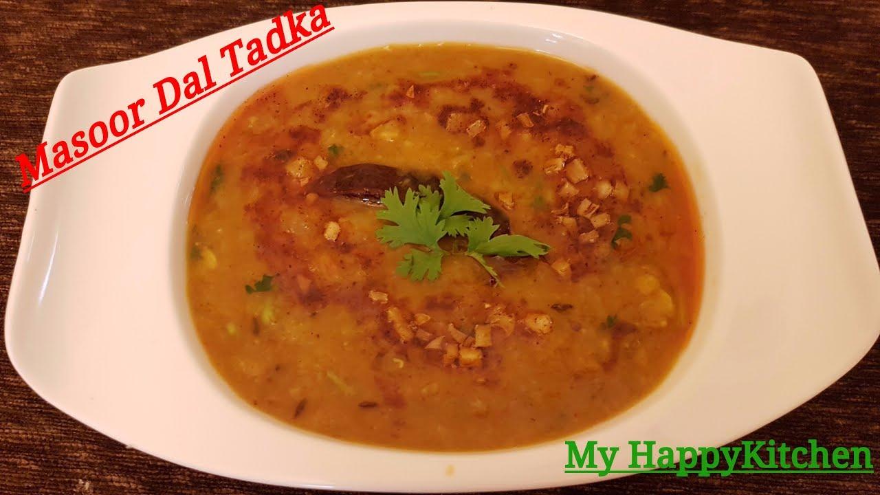 how to make simple dal tadka recipe