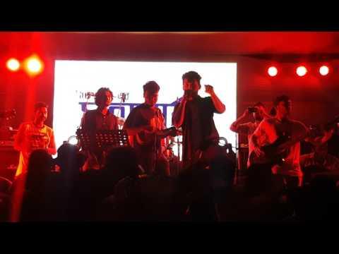 Backstage - Aj Pasha & We'll Rock You (Cover) (আজ পাশা) (Live at BUET) [29-03-2017]