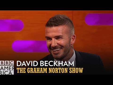 David Beckham's Sons Break His Heart - The Graham Norton Show
