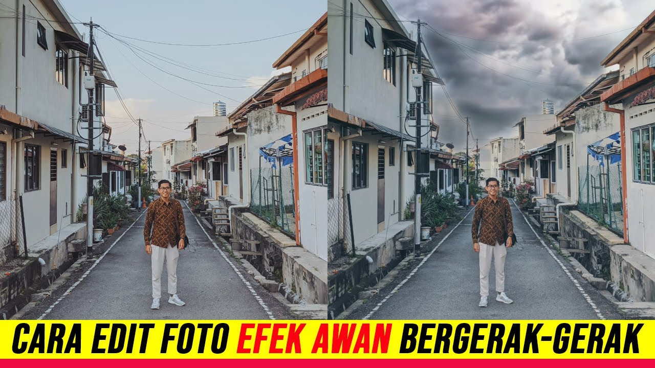 Aplikasi Edit Foto Dengan Awan Bergerak