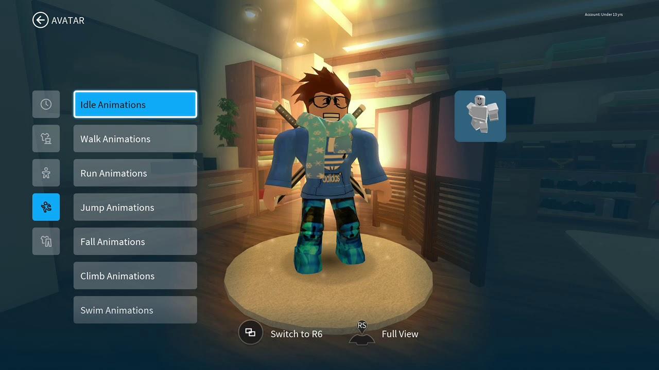 Roblox Xbox New Avatar Editor Youtube