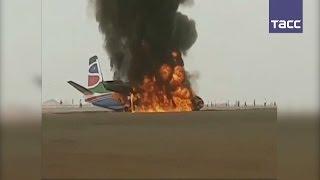В Южном Судане разбился самолет, пассажиры и члены экипажа выжили