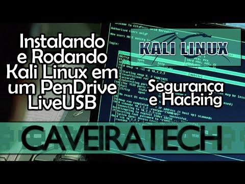 Como instalar e rodar Kali Linux num Pendrive (Live USB)