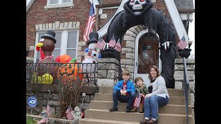 Video: Walsh Avenue neighbors bring out the holiday decorations to try and cheer up others