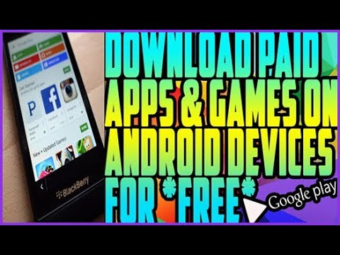 Play store Hacked! How to get Paid Apps Game Free Android  Play Store Without Root  NO PC 2017-18