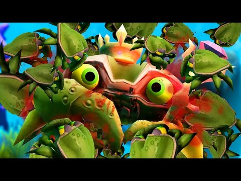 KING CRAB KILLED BY HIS OWN CHILDREN - Feed and Grow Fish - Part 14 | Pungence