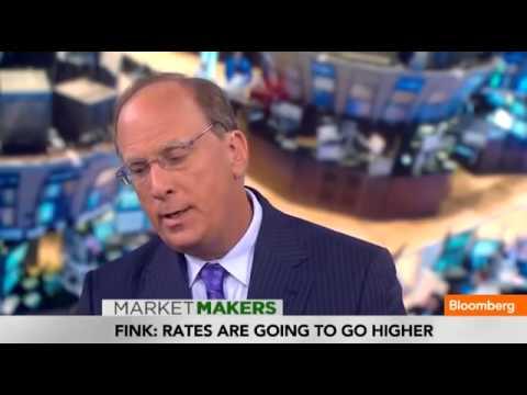 Blackrock's Larry Fink  No Inflationary Risk for U S