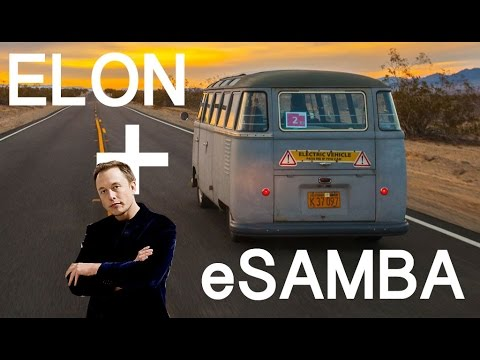 Did eSAMBA inspire ELON MUSK to MASTER PLAN the TESLA BUS?