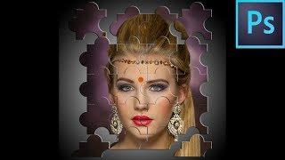 Photoshop CC /CS6 Jigsaw Bulmaca bir Etki oluşturmak için nasıl