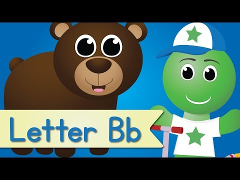 Letter B Song (Animated)
