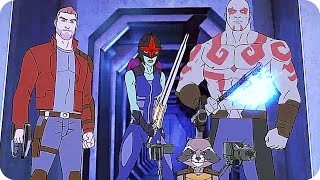 Marvel's GUARDIANS OF THE GALAXY Season 2 TRAILER (2017) Disney XD Animated Series