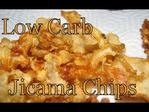 Atkins Diet Recipes: Low Carb Jicama Chips (IF)