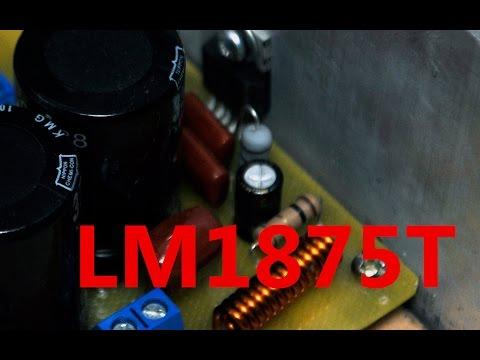 Усилитель на микросхеме LM1875T просто и  качественно